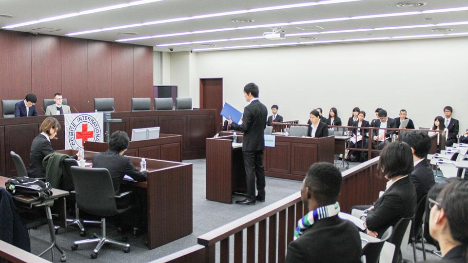 IHL模擬裁判大会の様子