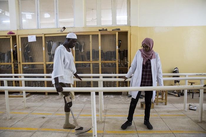 南スーダンでの障がい者リハビリ支援
