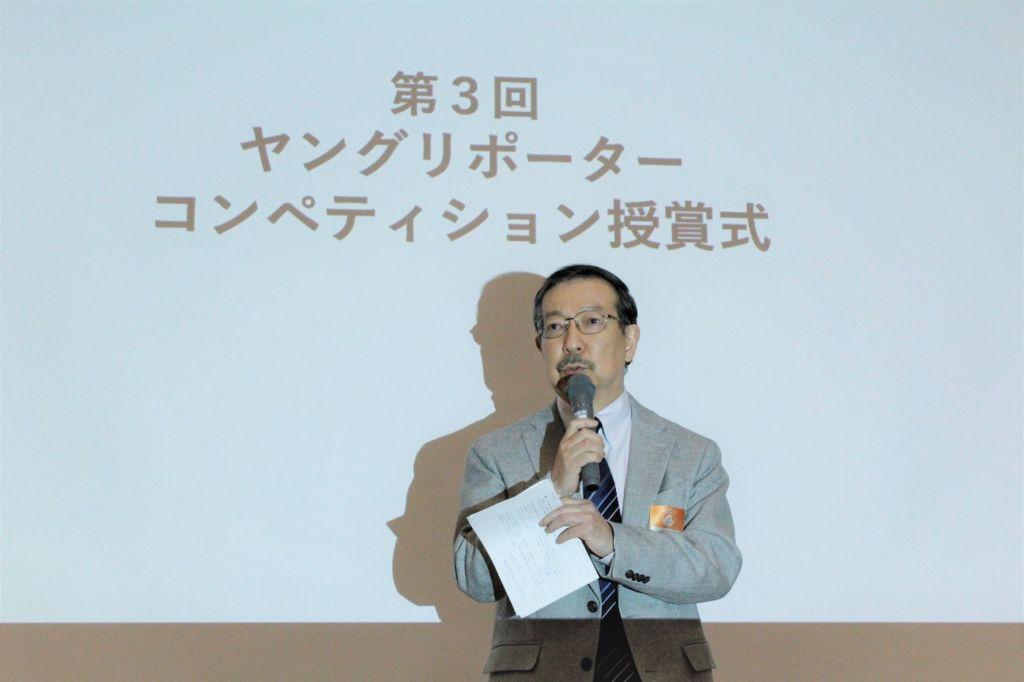 第3回コンペティションを総括する審査員長の土生氏