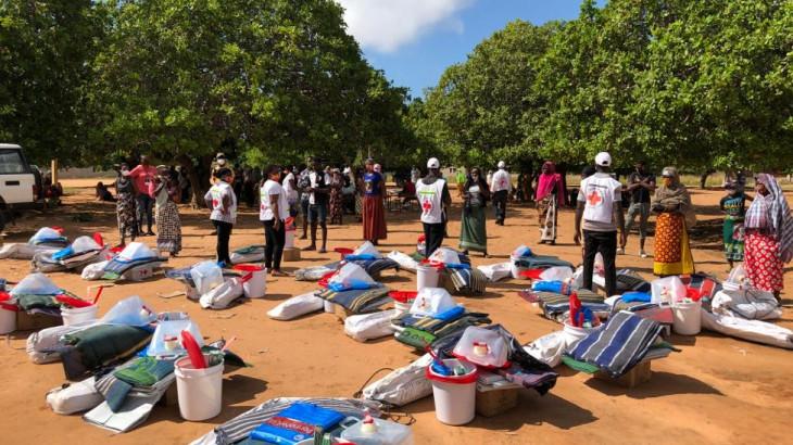 モザンビークで支援活動を行うICRC