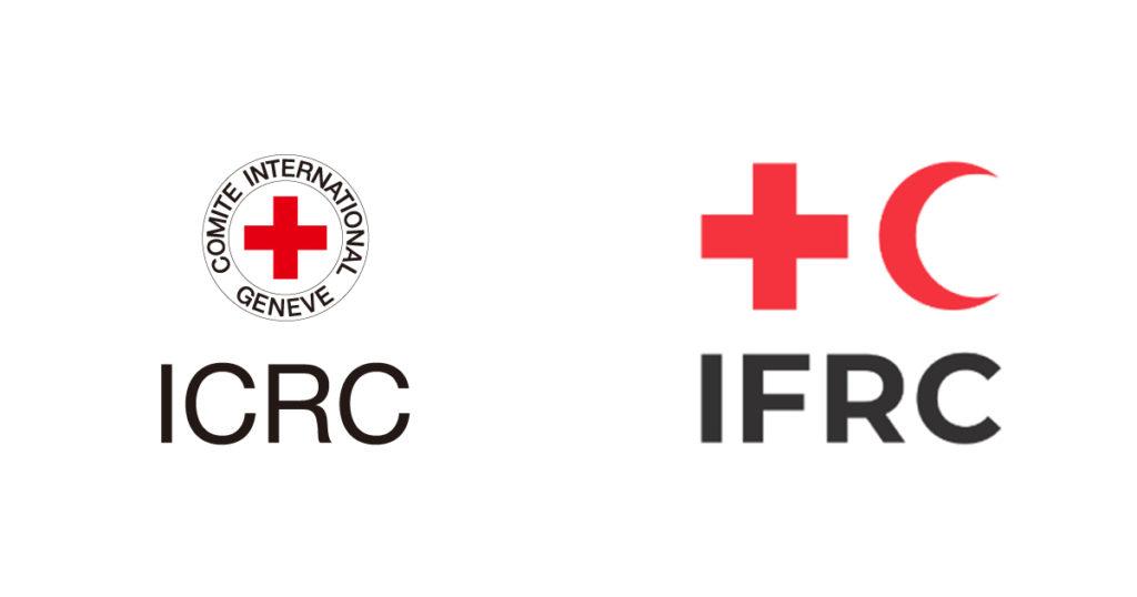 ICRCとIFRCのマーク