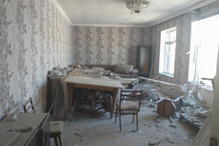 数千の住宅が損壊