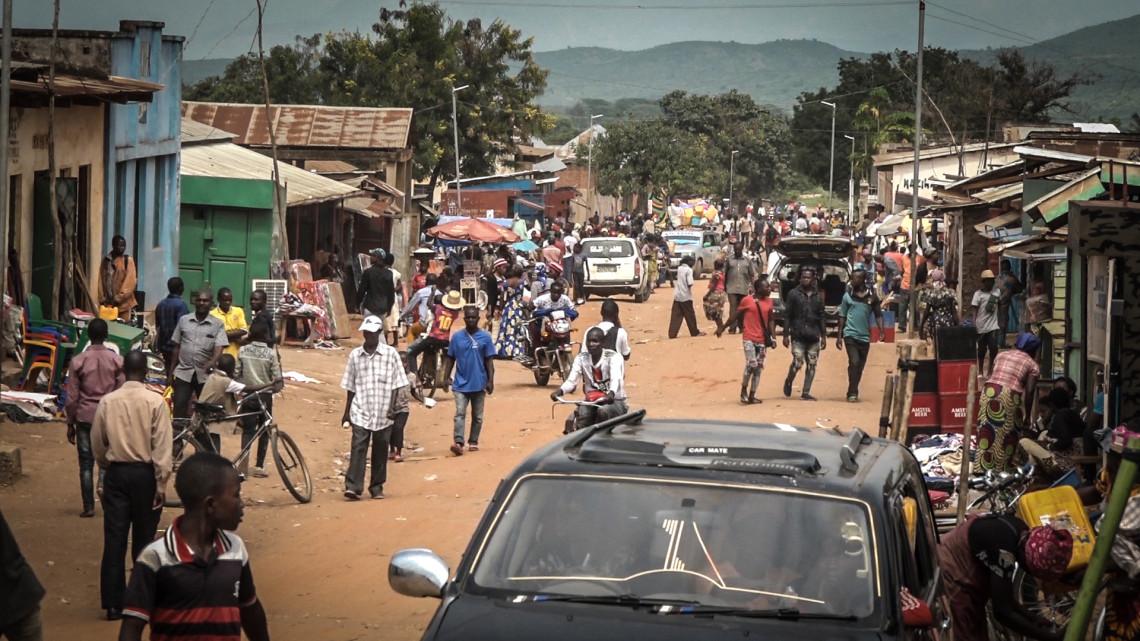 コンゴの街並み