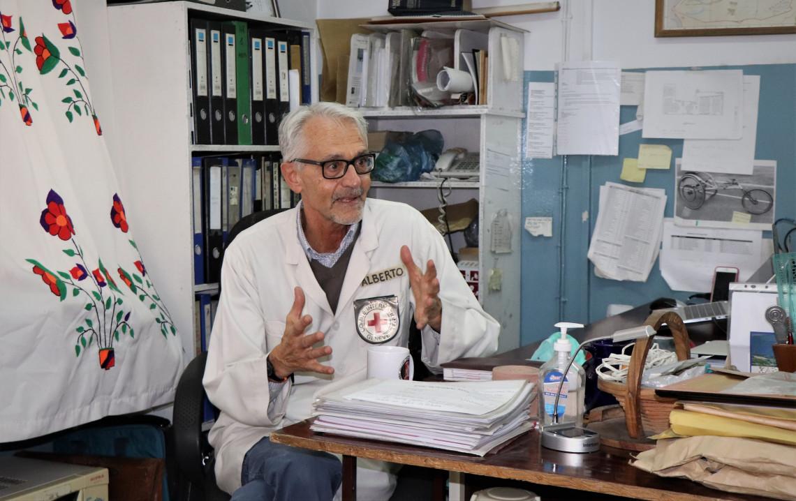 アリ・アバド整形外科センター内にあるカイロのオフィス