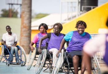 南スーダン:ICRCによる障がい者のためのスポーツプログラム