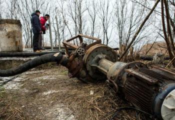 ウクライナ東部ドンバスに安全な水を
