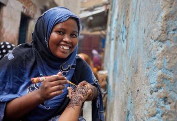 ソマリア:ビジネスを営む女性への経済自立支援